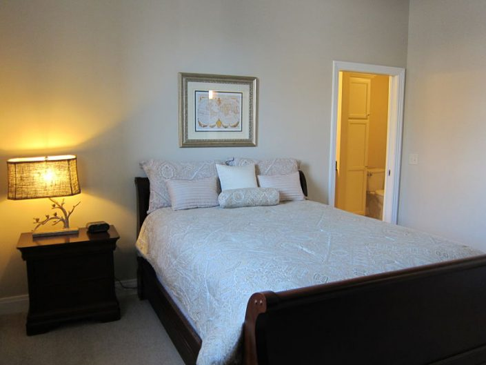 Furnished Peregrine Tower Bedroom