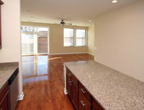 Peregrine Square Unit 301 Living Room