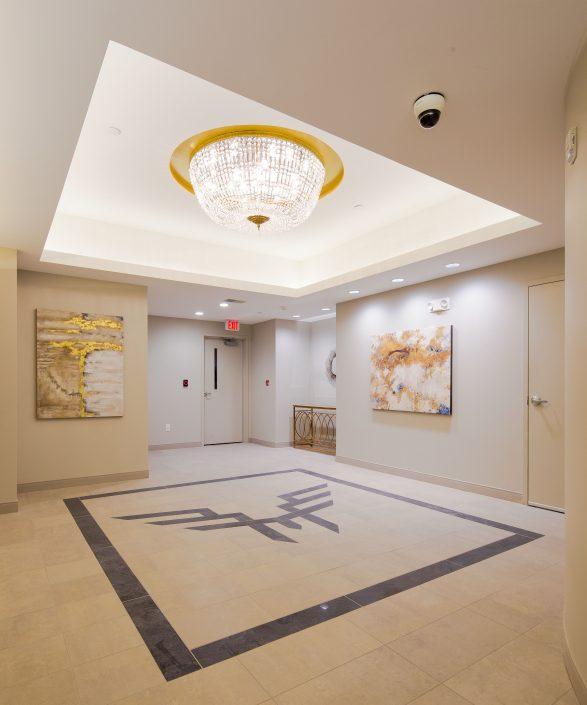 Peregrine 100 Phase 2 lobby